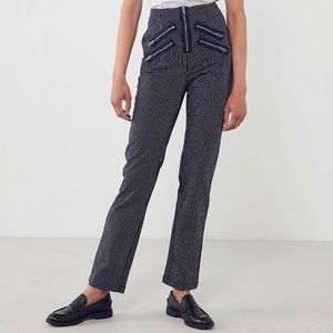 silence + noise Jeans - Rockstar stripe high rise jeans